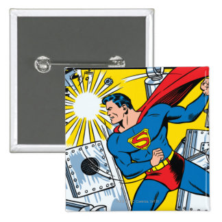 Action Comics #36 15 Cm Square Badge