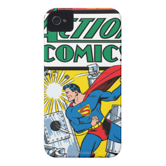 Action Comics #36 iPhone 4 Case-Mate Cases