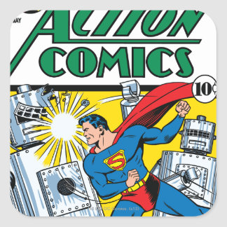 Action Comics #36 Square Sticker