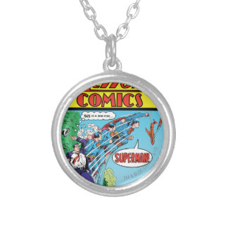Action Comics #426 Silver Plated Necklace