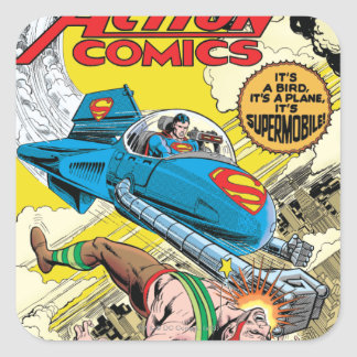 Action Comics #481 Square Sticker