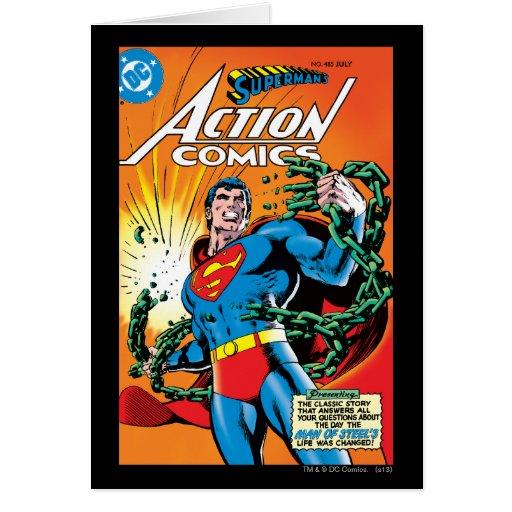 Action Comics #485 Card