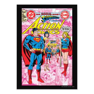 Action Comics #500 Oct 1979 Card