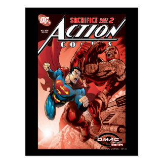 Action Comics 829 Sep 05 Post Card