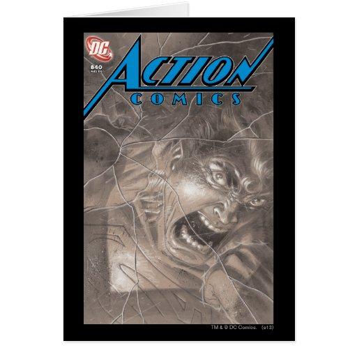 Action Comics #840 Aug 06 Greeting Card