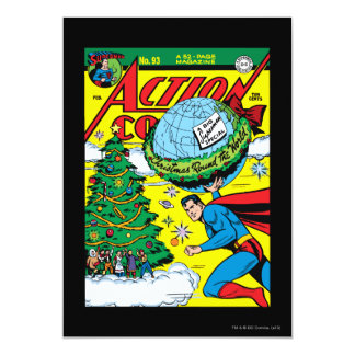 Action Comics #93 13 Cm X 18 Cm Invitation Card