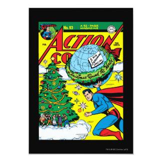 Action Comics #93 13 Cm X 18 Cm Invitation Card