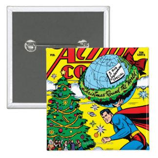 Action Comics #93 15 Cm Square Badge