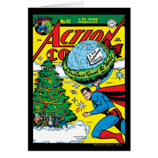 Action Comics 93 Greeting Cards