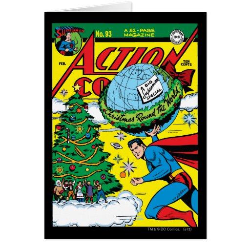 Action Comics #93 Greeting Cards