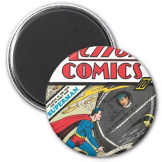 Action Comics - August 1939 6 Cm Round Magnet