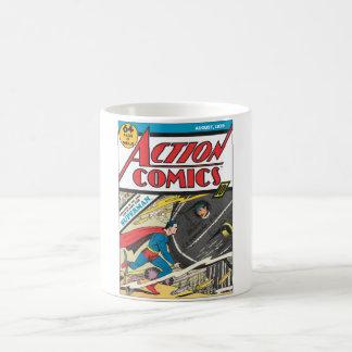 Action Comics - August 1939 Basic White Mug