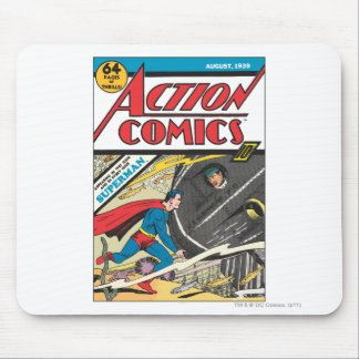 Action Comics - August 1939 Mouse Mat