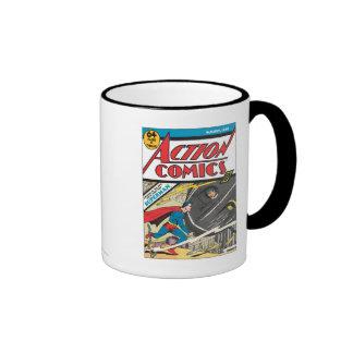 Action Comics - August 1939 Ringer Mug