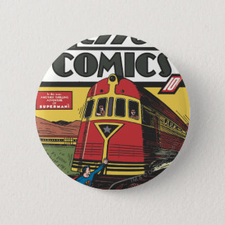 Action Comics - June 1939 6 Cm Round Badge