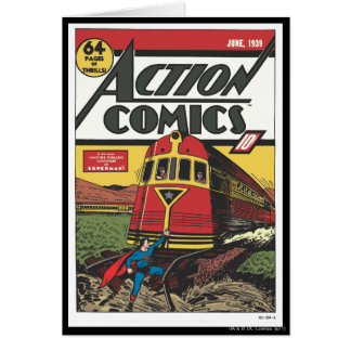 Action Comics - June 1939 Card