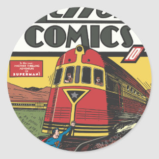 Action Comics - June 1939 Classic Round Sticker