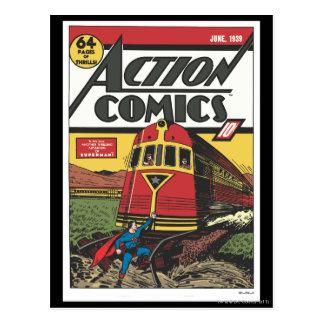 Action Comics - June 1939 Postcard