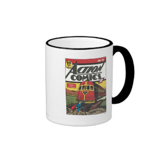 Action Comics - June 1939 Ringer Mug