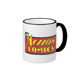 Action Comics - Superman Ringer Mug