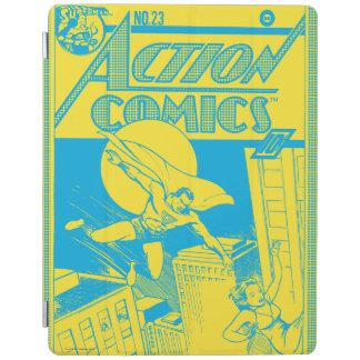 Action Comics Superman saves iPad Cover
