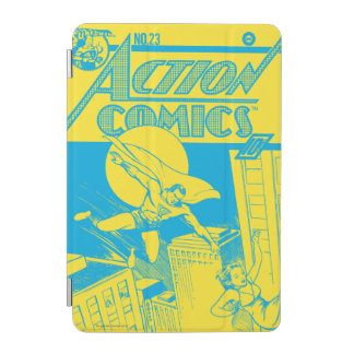 Action Comics Superman saves iPad Mini Cover