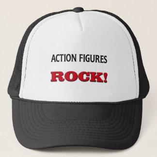 Action Figures Rock Trucker Hat