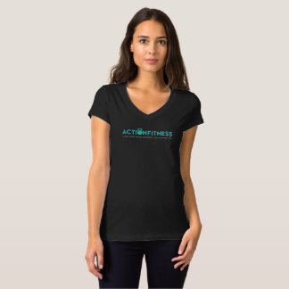 Action Fitness Happier You T-shirt - Front/Back