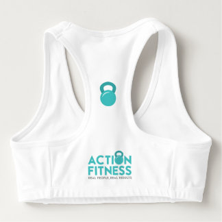 Action Fitness Real People Sports Bra