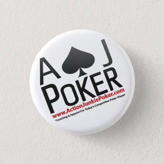 Action Junkie Poker Pins