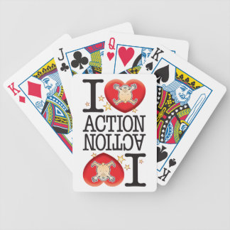 Action Love Man Card Deck