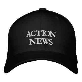 ACTION NEWS EMBROIDERED BASEBALL CAP