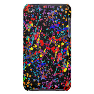 Action Painting Splatter Art iPod Touch Cases