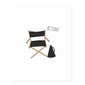 Action! Postcard