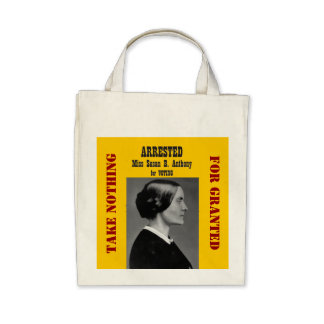Actions: Susan B Anthony Bag