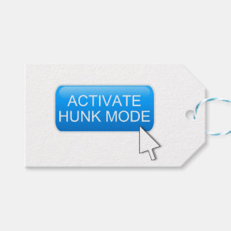 Activate hunk mode. gift tags