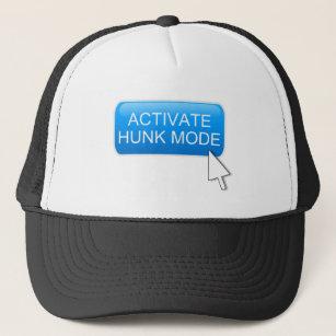 Activate hunk mode. trucker hat 7a675dde600c