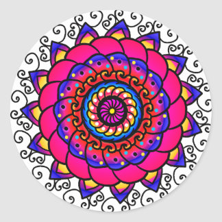 Activating Intuition Mandala Sheet of 20 Stickers