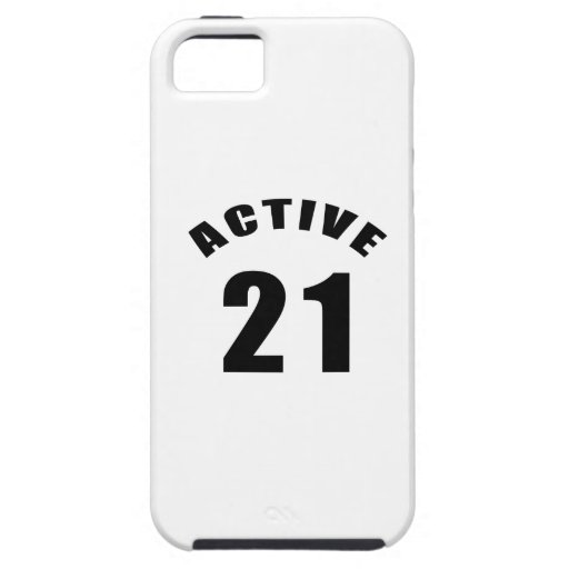 Active 21 Birthday iPhone 5 Cases