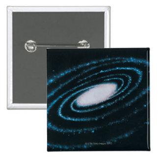 Active Galaxies 15 Cm Square Badge