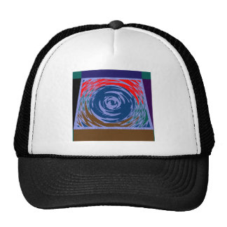 ACTIVE TORNADO waves art Graphic ARTISTIC GIFTS Hat