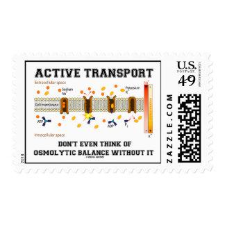 Active Transport Don't Think Osmolytic Balance Postage