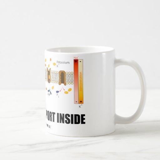 Active Transport Inside (Sodium-Potassium Pump) Coffee Mugs
