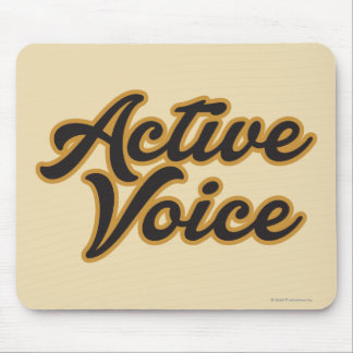 Active Voice Mouse Mat