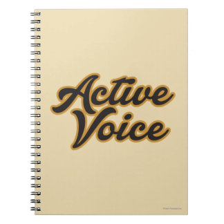Active Voice Notebook