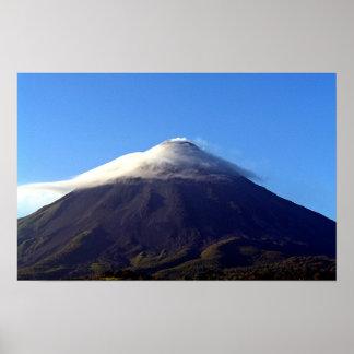 active volcano poster