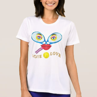 Active Wear Funny Tennis Shirts for Women XS-4XL