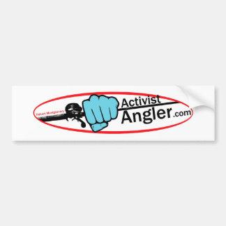 Activist Angler Bumper Sticker