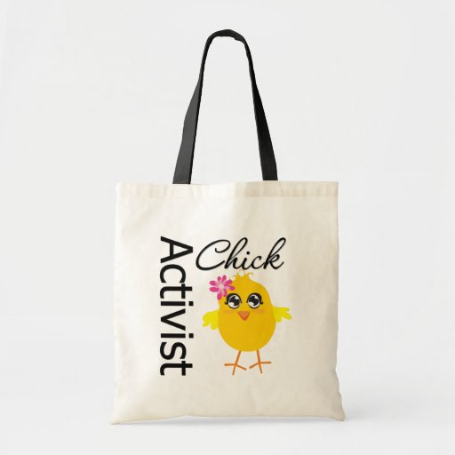 Activist Chick Tote Bag