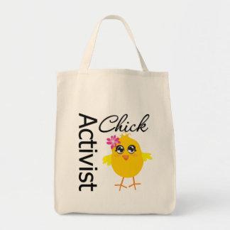 Activist Chick Canvas Bags